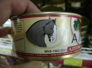Canned Horse Meat