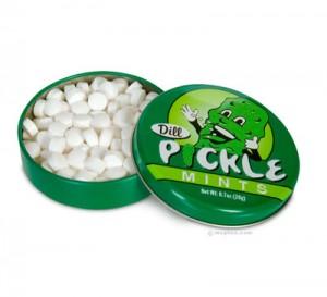 dill pickle mints