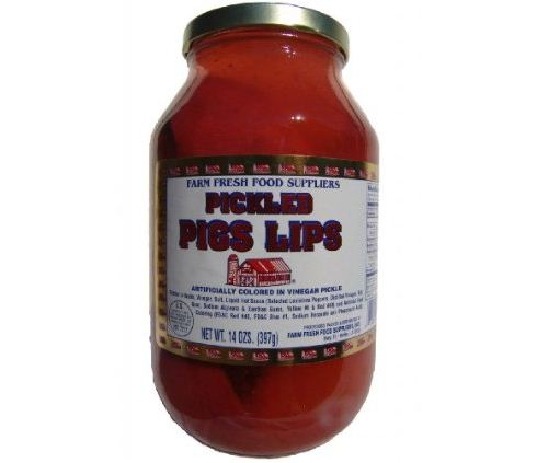 Pickled Pigs Lips