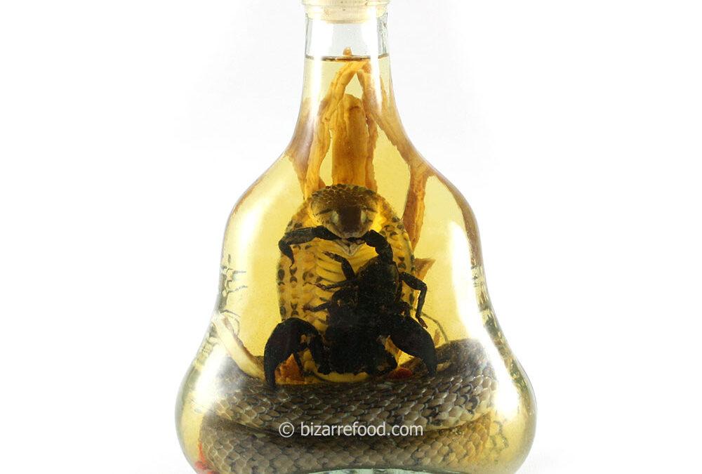 Snake Wine with Scorpion