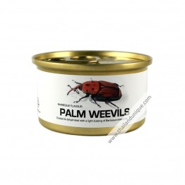 Canned Palm Weevils with Salt
