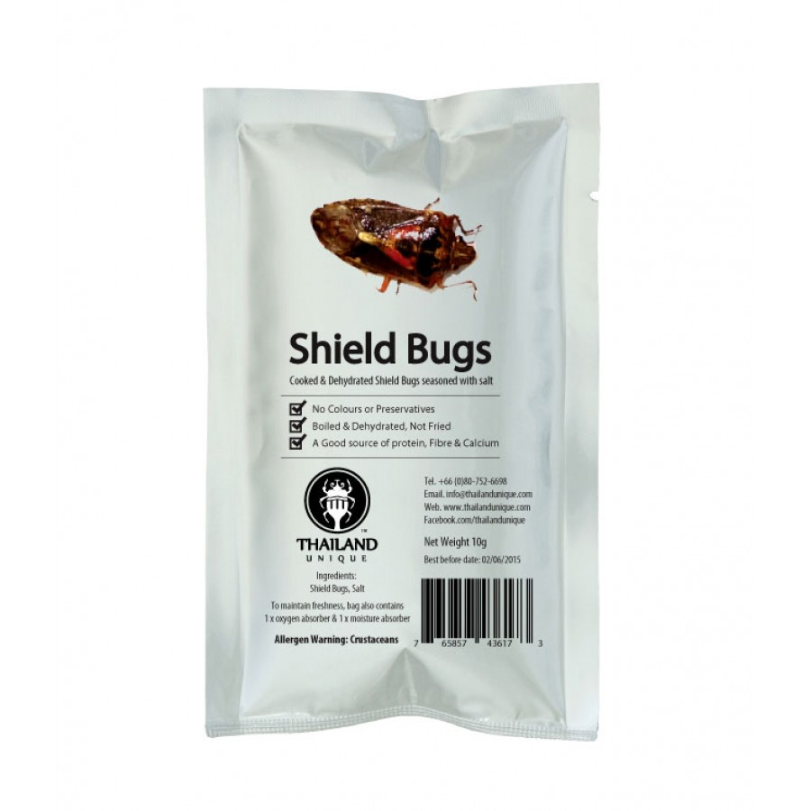 Edible Shield Bugs