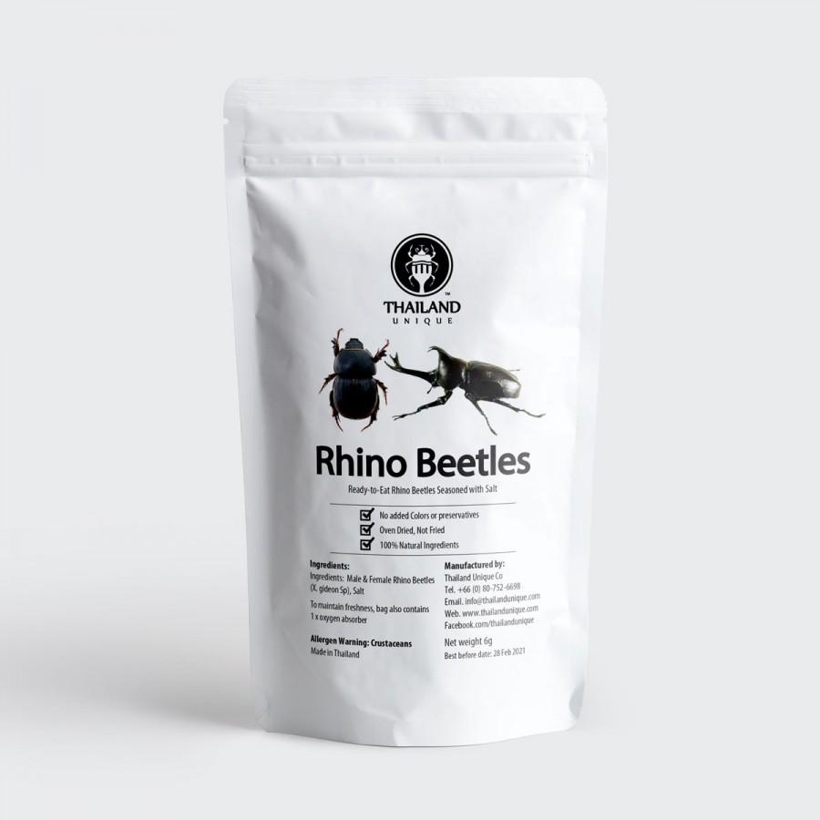 Rhino Beetles (Male & Female)