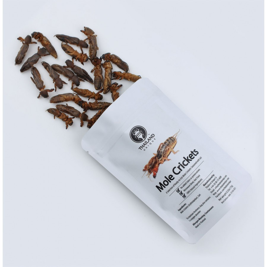 Dehydrated Mole Crickets 500g