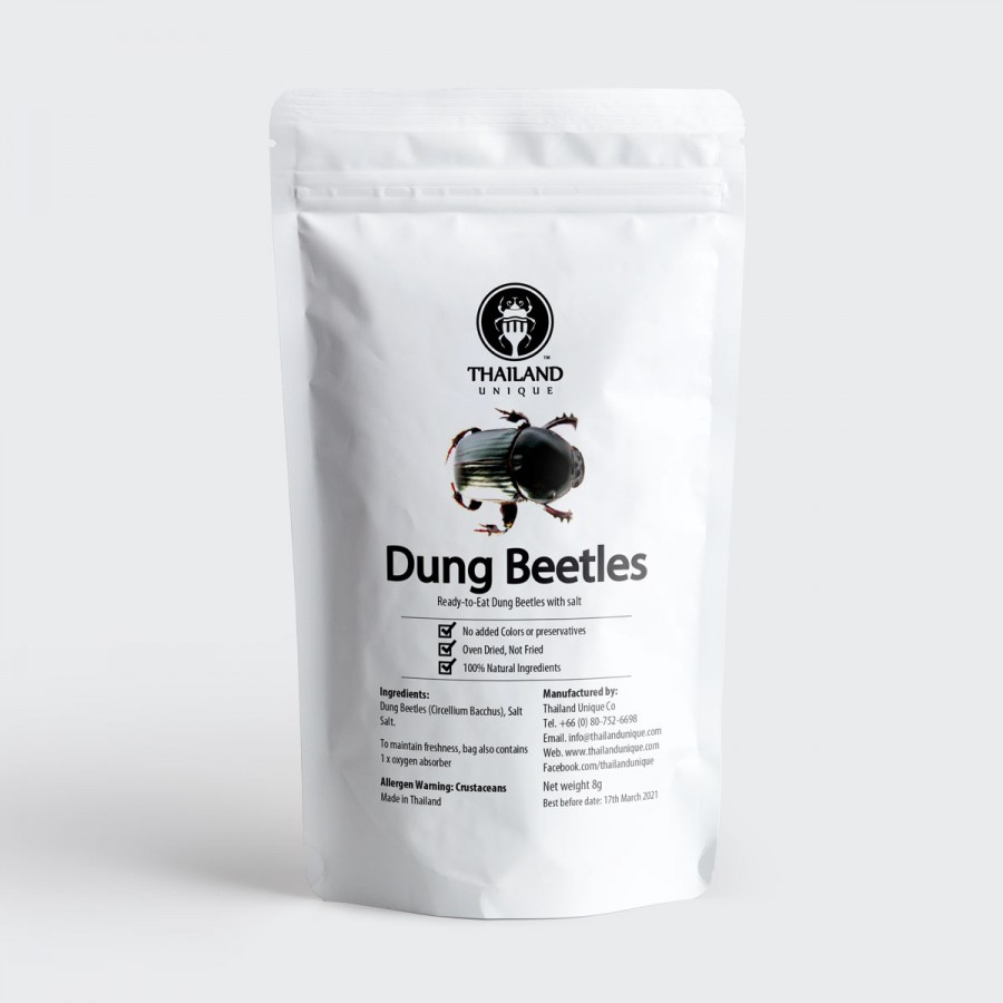 Dehydrated dung beetles 500g