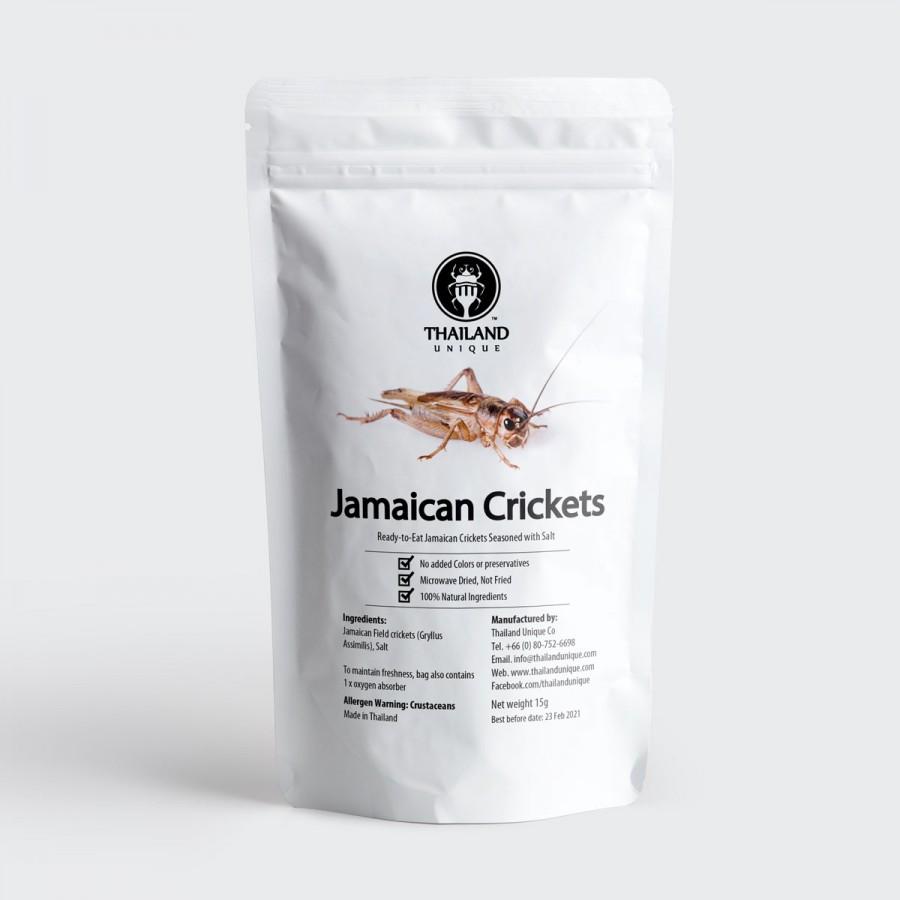 Jamaican Crickets - Gryllus assimilis 15g