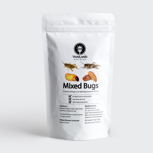 Mixed Edible Insects (NEW)