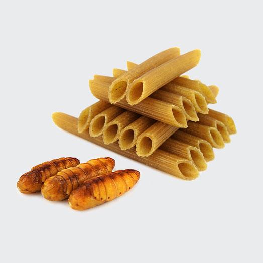 Silkworm Pupae Pasta - Gluten Free!