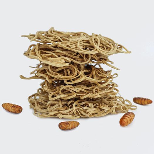 Silkworm Pupae Ramen Noodles
