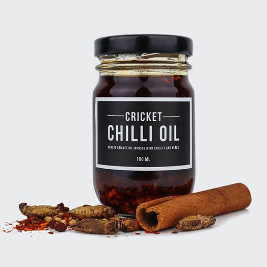 Cricket Chilli Oil