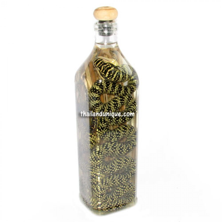 Snake & Herb Whiskey Infusion